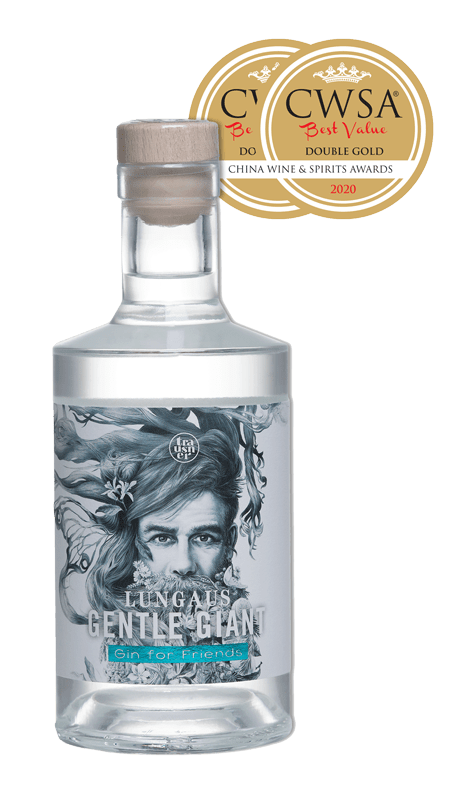 Gentle Giant Gin mit Doppelgold