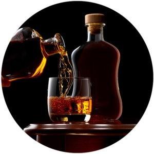 Individuelle Alkoholstärke in Flaschen
